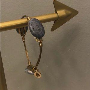 Bourbon and Bowtie authentic gray stone bracelet